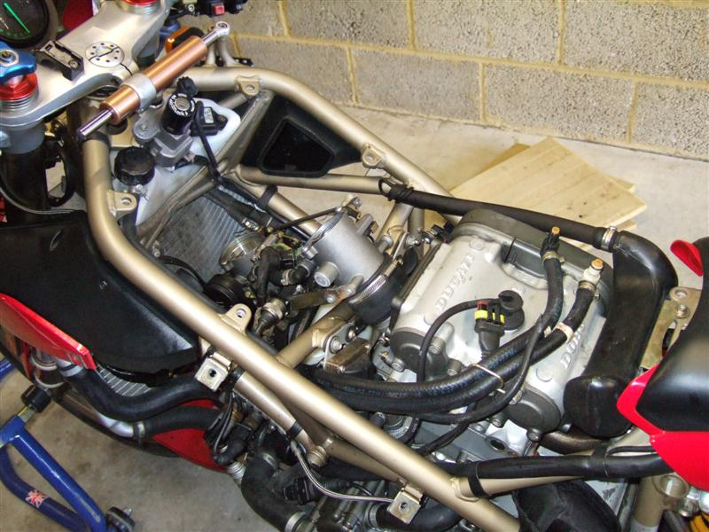 Ducati  Spark Plug Removal